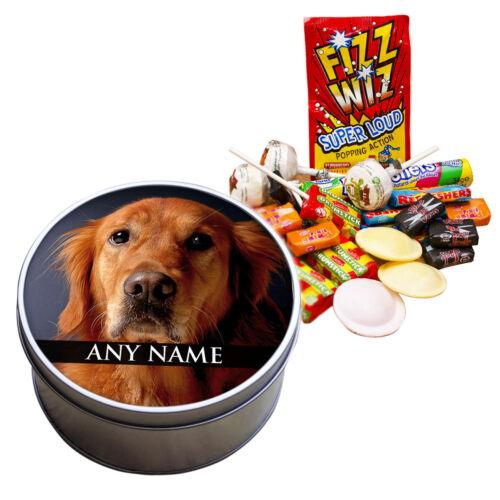 Personnalisé rempli Sweet Tin gunddogs Animaux Labrador setter braque de weimar Vizsla