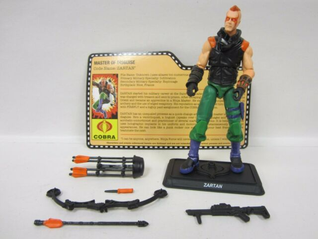 G.I JOE COLLECTOR'S CLUB EXCLUSIVE FSS FINAL 12 NINJA FORCE ZARTAN ACTION FIGURE