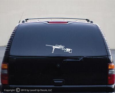 M40 Sniper Rifle Vinyl Decal,M40A1,M40A3,M40A5,USMC,Army,Marine Corps,LG