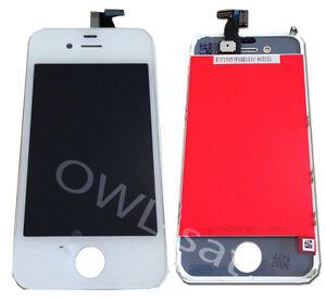 Ersatz-LCD-Display-Touchscreen-Komplett-Glas-passend-fuer-iphone-4s-4-s-Weiss