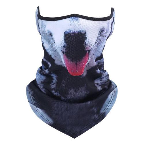Face Scarfs Bandanas for Motorcycle Cycling Riding Neck Gaiter Running Headbands