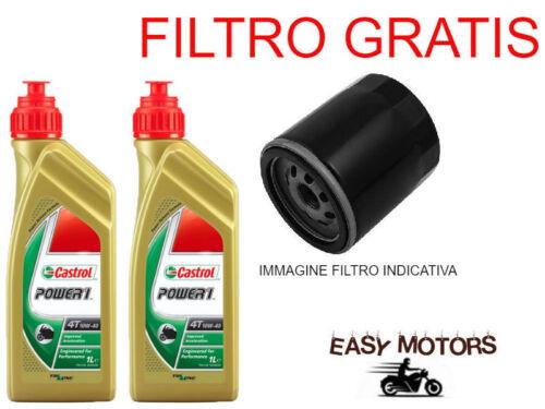 FILTRO OLIO APRILIA SCARABEO LIGHT IE E3 250 06//11 TAGLIANDO OLIO MOTORE