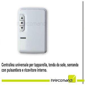 CENTRALINA DI COMANDO TAPPARELLE SERRANDE SARACINESCHE TENDE DA SOLE AUTOMAZIONE