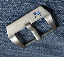 74 Uhren-Schließe Buckle in 26mm für Straps Uhrenbänder Lederbänder Pam