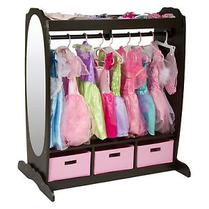 Image Is Loading Kids Dress Up Storage Closet Center Toddler Toys