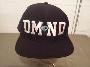 diamond skate snap back baseball cap
