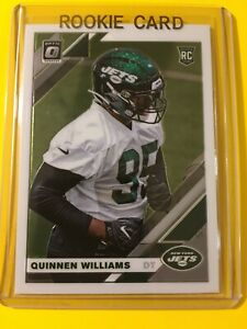 2019-OPTIC-QUINNEN-WILLIAMS-ROOKIE-RC-Base-103-New-York-Jets