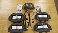 1967-82 S/S brake calipers NO CORE CHARGE 4 hoses, pads,clips, mount bolts m/c
