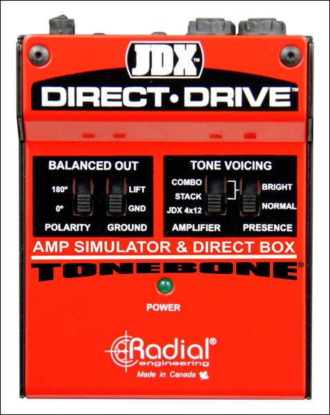 Simulador De Amplificador radial radial radial Jdx Direct Drive  Obtén lo ultimo