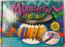 Latest Brand New Rainbow Loom Monster Tail MonsterTail Rubber Band Crafting kit