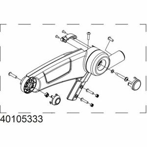 Thule 52674 mounting bracket for 598