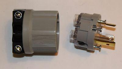 ARROW HART 6332 LOCKING PLUG 30A-125V-2P-3W GRD NEMA L5-30P *NEW* COOPER