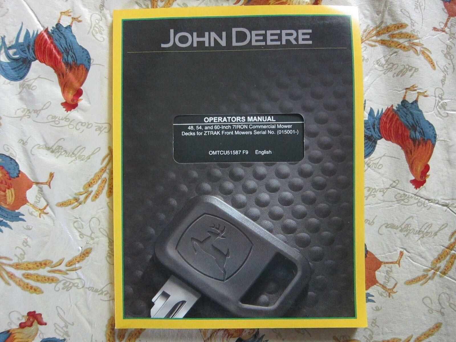 JOHN DEERE 1010 2010 TRACTOR OEM IGNITION KEY SWITCH W// KEYS  AT21418   9323