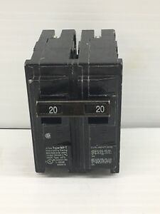 Details about MURRAY 20-Amp Double Pole Type MP-T Circuit Breaker
