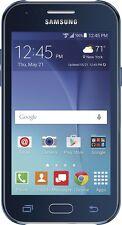 $79.99 Verizon Samsung Galaxy J1 4G LTE  8GB Memory Prepaid Cell Phone Blue New