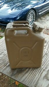 Military 5 gallon SCEPTER FUEL CAN JERRY CAN , OIL DIESEL FUEL 20 liter humvee