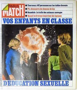 Paris-Match-N-1290-26-janvier-1974-Enfants-education-sexuelle-Lip