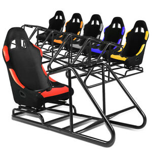 Astonishing Details About Pvc Leather Woven Bucket Cockpit Drive Racing Simulator Stand Gaming Chair Pdpeps Interior Chair Design Pdpepsorg