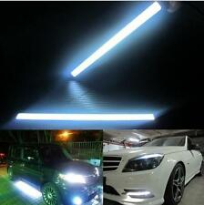 2x 12V Super Bright White Car COB LED Lights DRL Fog Driving Lamp Waterproof