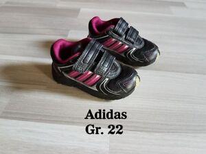 Details zu TOP * Adidas Sneakers Schuhe Turnschuhe schwarz pink Gr.22