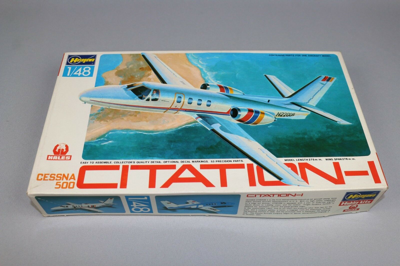 ZF233 Hasegawa Hales 1 48 maquette avion T2 T002 1200 citation-1 cessna 500