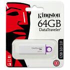 Kingston 64GB DataTraveler G4 USB 3.0 Flash Drive - DTIG4/64GB New Retail Pack