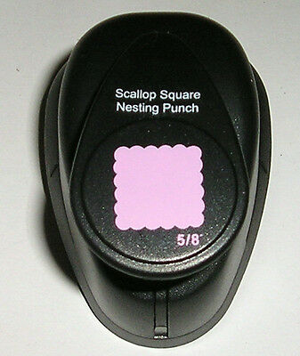 "Xcut square hole nesting punch perforated stamp style 5/8"" 16mm Diagonal"