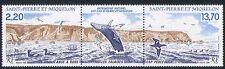 St Pierre & Miquelon 1988 Whale/Birds/Nature/Wildlife/Marine stp n30292