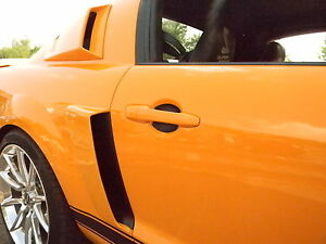 Carbon Fiber Auto Accessory Door Handle Scratch Guards Fits Volkswagen 2 Door