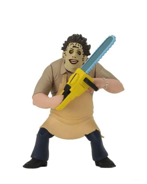 "Toony Terrors Series 2 Texas Chainsaw Massacre 6"" Scale Figure Leatherface NECA"