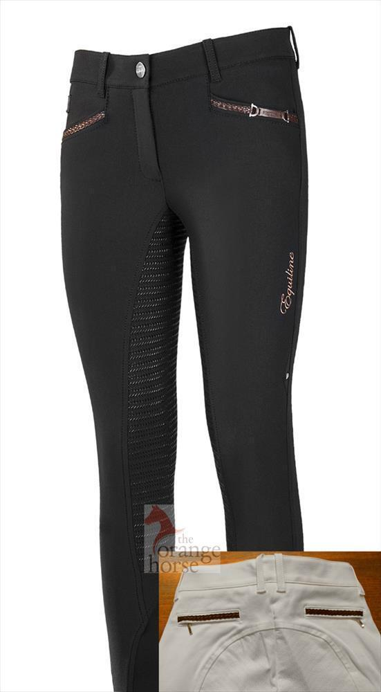 Equiline riding pants for woman with full  DEITRA-grip  designer online
