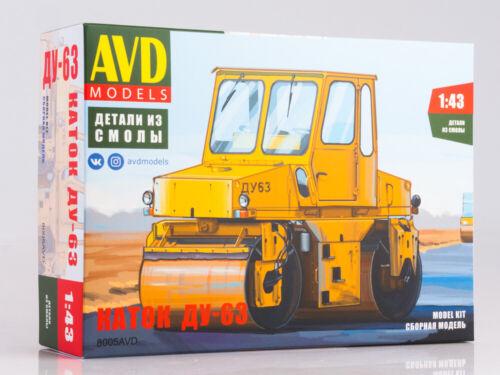 AVD Modèles 8005AVD 1//43 DU-63 russe automoteur Vibration Asphalt Roller