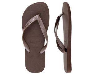0c73e5ed0560 Image is loading Havaianas-Top-Thongs-Dark-Brown