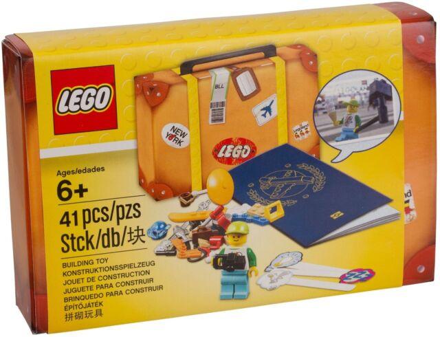 LEGO Travel Building Suitcase Accessory Kit 41pcs 5004932 Camera, Minifigure NEW