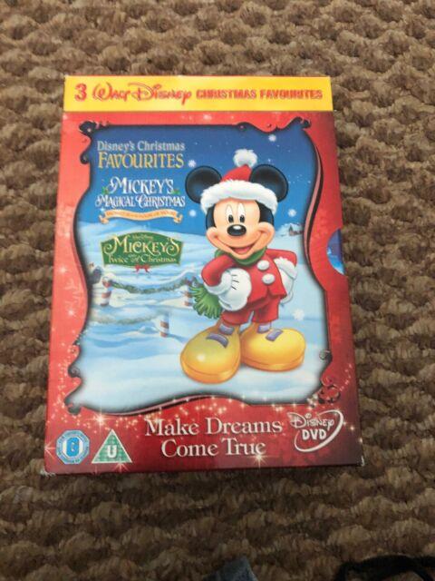 Mickey's Twice Upon a Christmas/Mickey's Magical Christmas/... DVD (2007) Walt