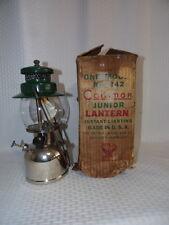 VINTAGE COLEMAN 242A 1935 OR 1936 GAS LANTERN SINGLE MANTLE