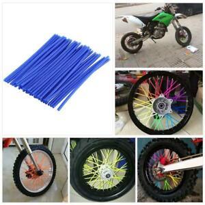 Kit di 36 protezioni per raggi delle ruote da motocross copriraggi per moto fuoristrada.
