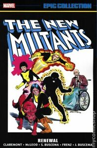 New Mutants Renewal TPB Epic Collection 2nd Edition #1-1ST FN 2020 Stock Image