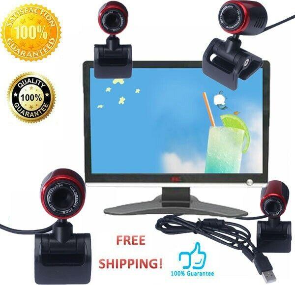 USB 2.0 16MP HD Webcam Camera Web Cam With Mic For Computer PC Laptop Desktop