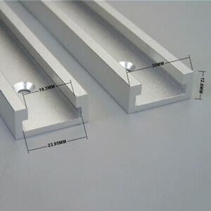 1X-Aluminum-T-Track-T-Nut-Gehrung-Fuer-Elektrisch-Kreissaege-Tisch-Werkzeug-600mm