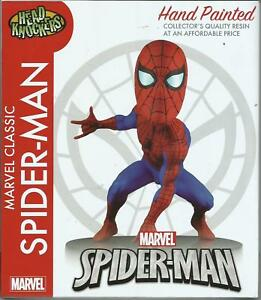 Neca-Marvel-Classic-Spiderman-Resin-Wackelkopf-Head-Knockout-Figure-New