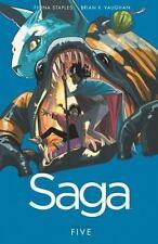 Saga, Vol. 5 Brian K. Vaughan Paperback