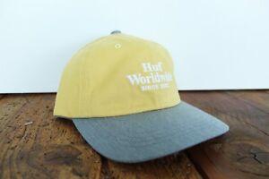 HUF-WORLDWIDE-DENIM-STRAPBACK-CAP-NEU-YELLOW-GREY-HUF-WORLDWIDE