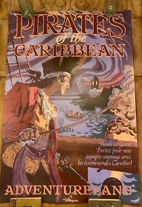 ATTRACTION-POSTER-36x54-034-Pirates-of-the-Caribbean-Disneyland-Paris-ride-prop-BIG