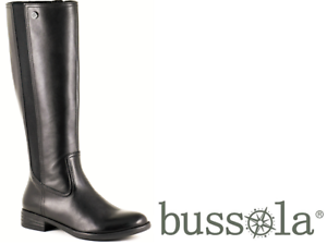Bussola shoes - long comfort leather Boots - Tricia