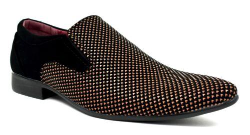 Hommes Smart Conduite À Enfiler Bout Pointu et formelle nouveau design Chaussures UK Taille 6-11