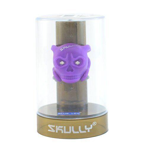 Yellow SKULLY Skull LED Front//Rear Detachable Light 2 x White LED/'s