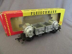 396G-Fleischmann-1473-Wagon-DB-Won-Haus-Zu-Haus-Ho-1-87