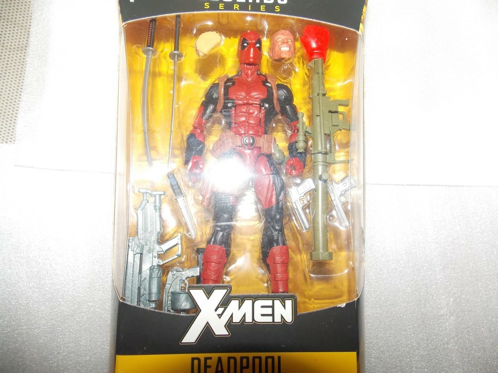 2-Marvel Legends Legends Legends 6 inch Deadpool + 12 inch Weapon-X  Figures ,X-men Series 5d7ae2