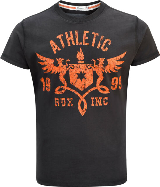 RDX Mens TShirt Top Boxing UFC Training MMA Vest Gym BodyBuilding Gents Tank Org